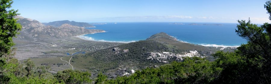 wilsons-prom-panorama from Mount Bishop